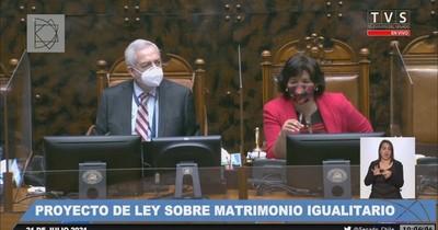 La Nación / Senado de Chile aprueba matrimonio igualitario y pasa a Diputados