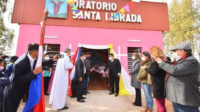 Gobernación inaugura nuevas obras en Caazapá