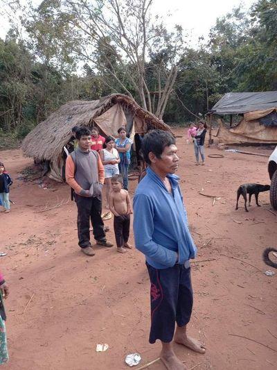 Olvidada comunidad indígena de Canindeyú clama ayuda del Estado