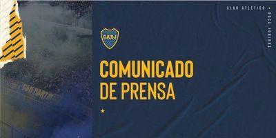 Boca Juniors lanza fuerte comunicado