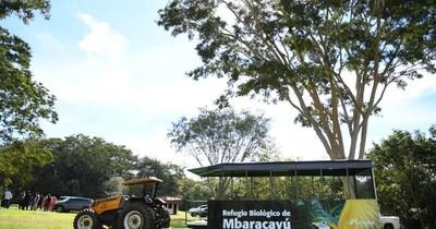 La Nación / El público ya puede visitar el Refugio Biológico Mbaracayú