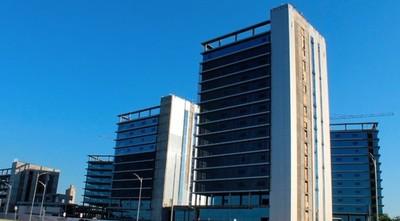 Obras de las futuras oficinas de gobierno están avanzadas en un 88%