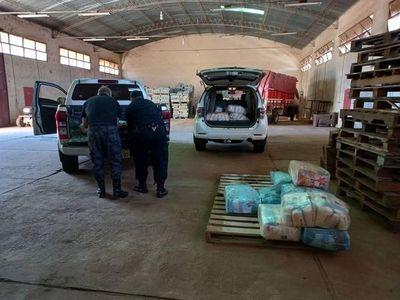 Aduana dona azúcar decomisada en procedimiento anticontrabando