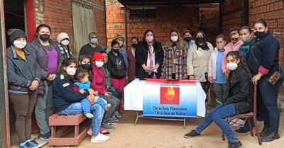 Mujeres del centro comunitario Chiquitunga participaron de jornada sobre violencia