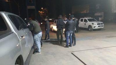 Detienen a supuestos asaltantes de transportadores de caudales