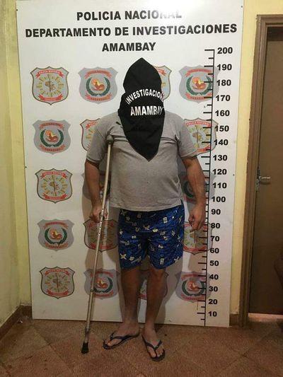 Capturan a criminal brasileño en Pedro Juan Caballero