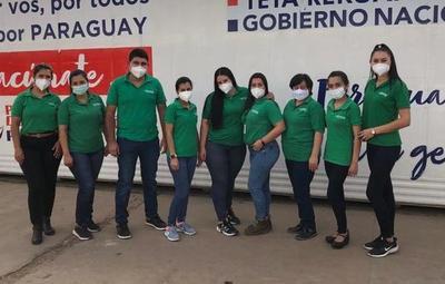 Vacunación en el Rubén Dumot contó con el apoyo de Farmacenter