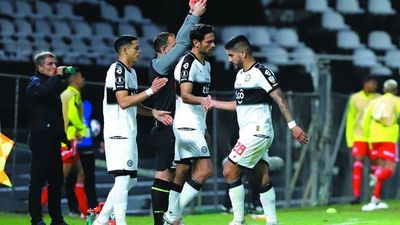 Recalde es duda para mañana ante Inter
