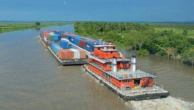 Ante los efectos de la sequía inician labores de dragado de ríos con el fin de mantener la navegabilidad