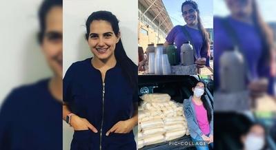 EJEMPLO DE SUPERACIÓN: VENDIENDO CHOCLO Y CAFÉ SE RECIBIÓ DE VETERINARIA