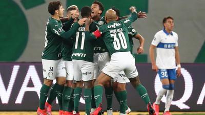 Palmeiras sigue su carrera en la Copa Libertadores