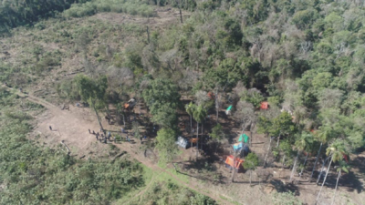 Detectan desmonte y otras irregularidades en la Reserva San Rafael