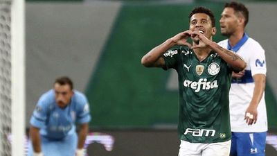 Palmeiras deja en el camino a la Católica y avanza a cuartos