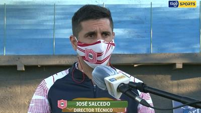Salcedo y Caballero analizan el empate entre Resistencia y San Lorenzo