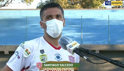 Santiago Salcedo analiza el empate ante Resistencia