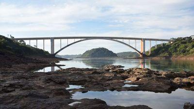 Impactante sequía del río Paraná