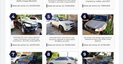 La Nación / Senabico subastará este sábado en la Expo de MRA vehículos incautados y comisados