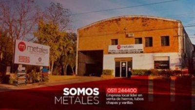 La firma Metales es líder en la distribución de aceros para la construcción en Cordillera