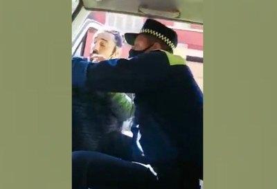 """Crónica / Un """"zorro"""" y un conductor ¡se moquetearon!"""