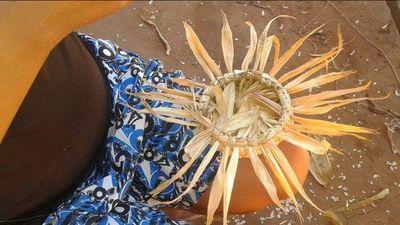 El arte tejido en caraguatá de Victoriana Colarte