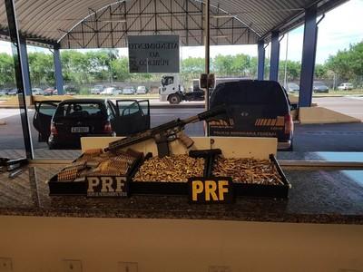 Cae FUSIL y gran cantidad de MUNICIONES llevados desde PARAGUAY
