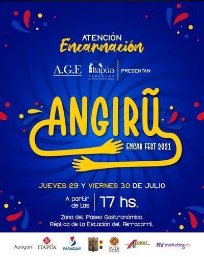 Festival gastronómico y shows musicales se harán en Encarnación este 29 y 30 de julio