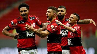 Flamengo elimina al campeón de la Copa Sudamericana