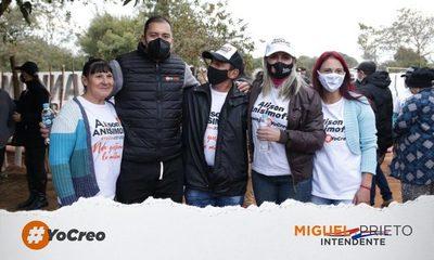 Miguel Prieto fortalece su campaña recorriendo los barrios de CDE con candidatos a concejales – Diario TNPRESS