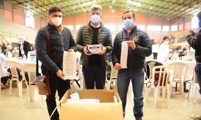 Municipalidad de Ciudad del Este donó jeringas para Salud Pública – Diario TNPRESS