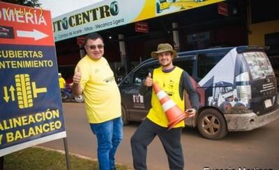 Eugenio Martínez, el candidato de barrio en Ciudad del Este