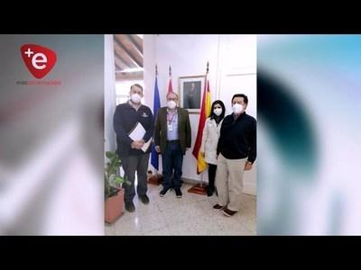 Municipalidad de Encarnación renovó acuerdo con la Agencia Española para la Escuela Taller