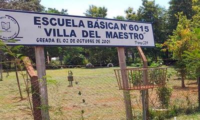 Malvivientes ingresan a robar en escuela Villa del Maestro de Coronel Oviedo – Prensa 5