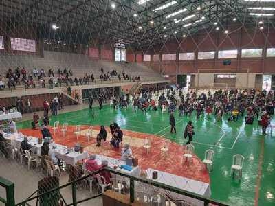 Reportan récord de vacunados en un día en Alto Paraná
