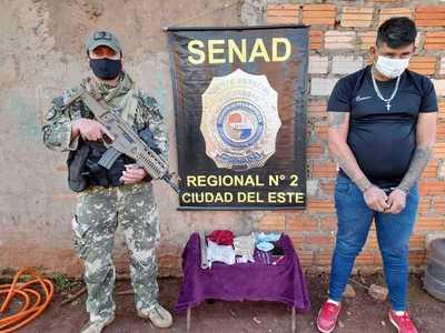Capturan a microtraficante con frondosos antecedentes en Minga Guazú