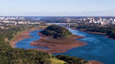 Caudales afluentes al embalse de Itaipu permanecen por debajo del nivel histórico