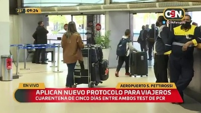 Aeropuerto Silvio Pettirossi: Aplican nuevo protocolo sanitario para viajeros