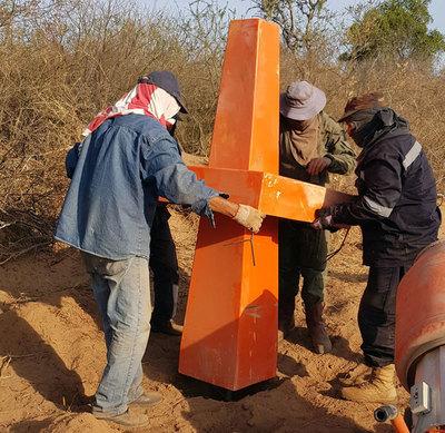 Paraguay y Bolivia demarcan hitos secundarios a lo largo de la frontera
