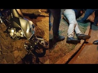 GRAVE ACCIDENTE ENTRE MOTOCICLISTAS SOBRE LA RUTA 14 EN CAMBYRETÁ