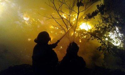Guyra Paraguay capacita a pobladores para combatir incendio forestales