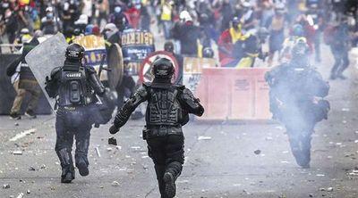 Colombia anuncia reforma de la Policía, tras represión