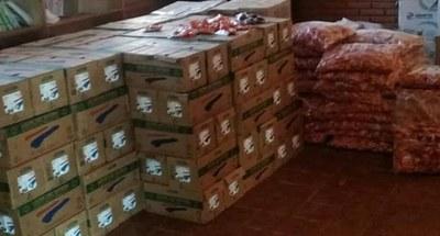 En Tavaí continúa la entrega de Merienda Escolar