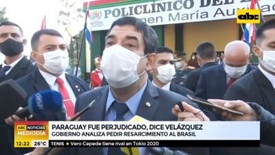 """Velázquez plantea pedir compensación a Brasil por deuda """"ilegal"""" de Itaipu"""