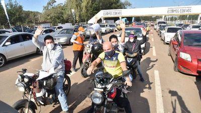 Carriles para motos y minibuses para descomprimir el ex Aratirí