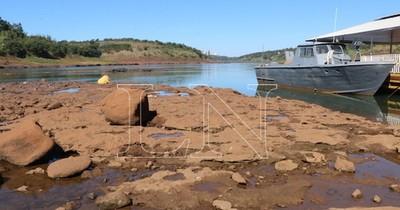La Nación / Alarmante: bajante de ríos podría dejar sin agua potable a poblaciones ribereñas