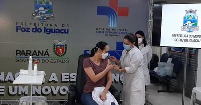 La Nación / Brasil refuerza la vacunación