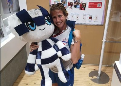 Alejandra Alonso, la primera paraguaya en competir en las Olimpiadas 2020