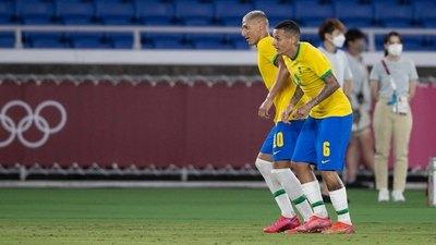 Tokio 2020: Richarlison le da el triunfo a Brasil; Argentina cae ante Australia