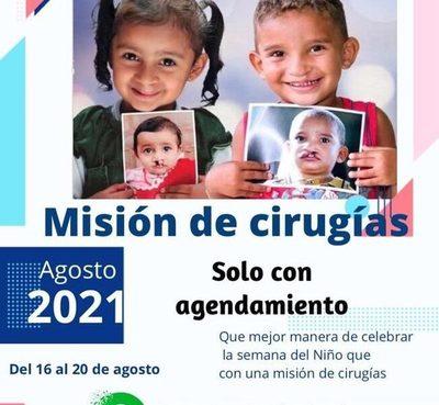 Operación Sonrisa Paraguay inicia nueva campaña de cirugías gratuitas