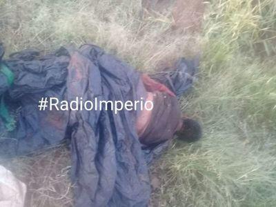 Identifican cadáver que fue hallado envuelto con carpa al costado de la Ruta PY11
