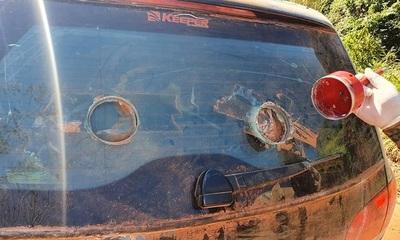 Santani: Abandonan dos vehículos en la vía pública y presumen vínculos con la banda desarticulada en megaoperativo